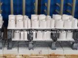 반토 알루미늄 산화물 92% 95%를 가진 세라믹 굴곡 관 안대기