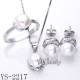 La perla dei monili di modo ha impostato 925 l'argento (YS-2196/99, YS-22/20/60/63)
