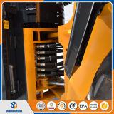 Caricatore della rotella del macchinario edile mini 1500kg con la forcella del pallet