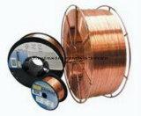 Câblage cuivre de MIG, fil Er70s-6 de soudure de fil de MIG