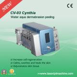 2 em 1 máquina limpa CV-03 da beleza pele facial de Dermabrasion do diamante da hidro