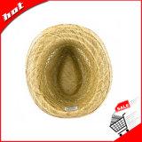 Chapéu de palha natural da cavidade do Fedora da palha