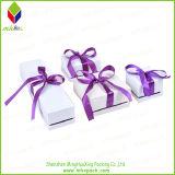 Kundenspezifischer Goldstempelngeschenk-Schmucksache-Kasten