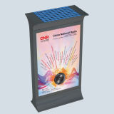 屋外の太陽Mupis LEDのスクローリング広告のライトボックス