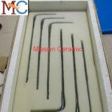Elemento calefactor de Disilicidio Mosi2 de molibdeno