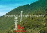 tipo vertical torre de arriba de la configuración 1000kv de la transmisión del circuito del doble