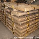 Chapa de aço inoxidável laminada a alta temperatura (AISI316, 321, 420, 904)