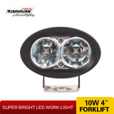 Point bleu DEL Forklift Lights 10W DEL Flood Work Light