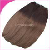 Human Hair Extensions에 있는 도매 인도 Remy Hair Double Drawn Tape