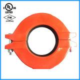Ferro Ductile aprovado do acoplamento flexível de FM/UL Reduing