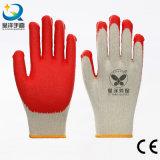 Het latex bedekte Vlot met een laag beëindigt de Handschoenen van de Veiligheid