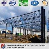 Выдвижение сарая стальной рамки для мастерской Porcessing