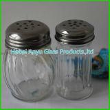 bouteille en verre d'épice de BBQ de dispositifs trembleurs de sel 72gram et de poivre