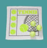 Toalha comprimida de design de golfe 100% algodão (YT-614)
