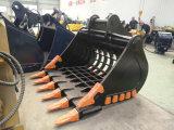 중국 공장 굴착기는 제조자, 굴착기 해골 물통을 분해한다