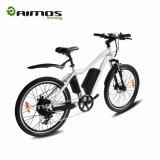 عادية سرعة وسط درّاجة كهربائيّة مع [س] يوافق