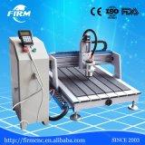 Высокий маршрутизатор CNC цены по прейскуранту завода-изготовителя 3D точности деревянный миниый подвергает 6090 механической обработке для рекламы