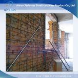 Rete metallica di rinforzo del muro di mattoni