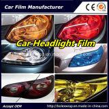 Film de lampe de véhicule d'automobiles de couleurs et de phares de moto