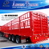 3 as 50-60t Livestock Animal Transport Fence Stake Store House Bar Semi Trailer (halve sluitenhefboom) (LAT9390CLXY)