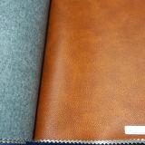 Material de cuero de Microfiber para la tapicería de los muebles