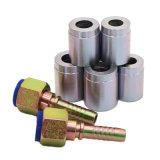 造られた炭素鋼の女性油圧フェルールの管の管継手