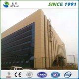Gruppo di lavoro prefabbricato della costruzione della grande struttura del metallo