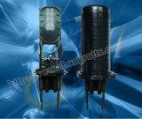 encierro óptico del empalme de fibra de la bóveda de la capacidad máxima 3out 240 de los 3in