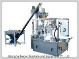 포장하는 분말 측정, 8개의 워크 스테이션 자동적인 식품 포장 기계