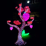 Напольное Waterproof 3D Sculpture Acrylic СИД Flower Tree Light для Holiday Party Decoration с SGS Certificates Bw-Sc-288 RoHS TUV CE
