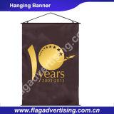 Banner van de Stof van de Polyester van de Druk van de Sublimatie van de kleurstof de Hangende met Zak