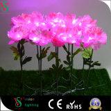 Flores artificiales baratas realistas que hacen para la decoración casera