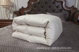 Weißer Leinengans-unten Tröster mit Baumwollperkal-Shell