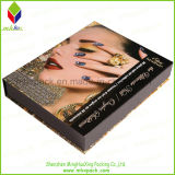 De promotie Vorm die van het Boek Document vouwt dat Kosmetisch Vakje verpakt