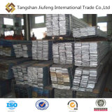 Flacher Stahlstab gebildet durch Professionalaufbereitende Fabrik