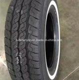 Neumático radial del coche, neumático sin tubo 185/65r15 de la polimerización en cadena, neumático barato 195/65r16 y 205/55r16