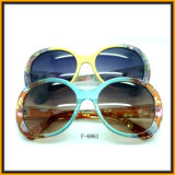 Горячие продавая солнечные очки рамки картины цветка пластичные (F6861)