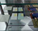 Couleur arrière résistant à l'acide imperméable à l'eau peinte en verre pour des meubles