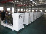 28kw/35kVA Quanchai Genset Diesel Soundproof com certificações de Ce/Soncap/CIQ