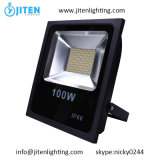 Slim LED Flood Light / Floodlight, iluminação LED 100W IP65 Floodlights
