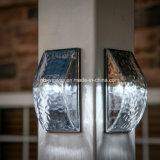 Ce&RoHS aprobó las luces solares de cristal de la pared de 5 vatios al aire libre