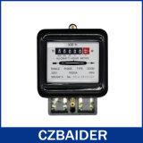 単一フェーズエネルギーメートル(静的なメートル、電気のメートル) (DD282)