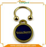 ギフトが付いている昇進の金属Keychain