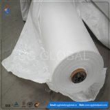 Tissu tissé par polypropylène blanc d'usine de la Chine