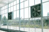 Serre chaude en verre de modèle moderne pour le jardin de cueillette avec le système de réglage