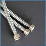 Boyau fileté par Bsp en métal d'acier du carbone de l'eau de 1/2