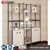 Fabricação da China DIY Living Room Display Steel-Wooden Furniture