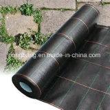 Couvre-tapis de lutte contre les mauvaises herbes Noir de pp et de PE fabriqué en Chine