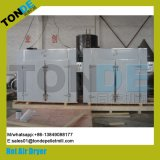 Aire caliente industrial que recicla la secadora de la legumbre de fruta