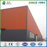 Le fournisseur de la Chine a galvanisé l'entrepôt léger d'atelier de structure métallique de mesure